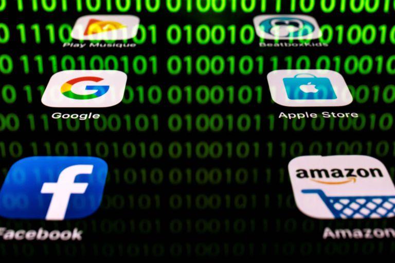 As grandes empresas de tecnologia dos EUA têm um valor de mercado superior a 5 trilhões de dólares.
