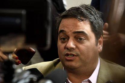 O ministro argentino do Trabalho, Jorge Triaca, em foto de arquivo.