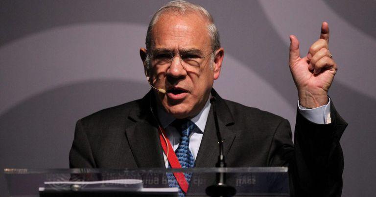 O secretário geral da OCDE, José Angel Gurría.