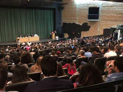 Debate entre candidatos ao Governo do Estado de São Paulo na PUC.