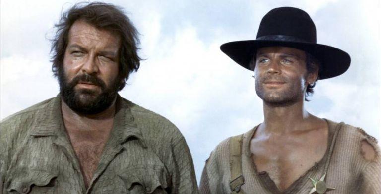 Bud Spencer e Terence Hill, em um de seus filmes.