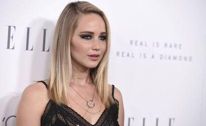 Jennifer Lawrence, nesta segunda em Los Angeles.