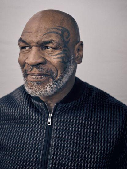 Mike Tyson, a lenda do boxe que hoje virou empresário, pai de família e 'podcaster' de sucesso.