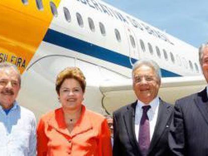 Lula, Dilma, FHC e Collor.