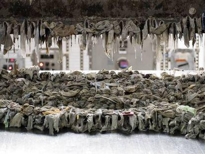 O acúmulo de lenços umedecidos ameaça entupir Nova York