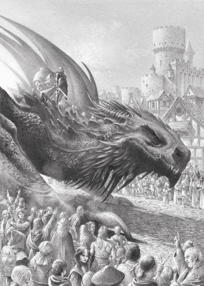Dragão Balerion.