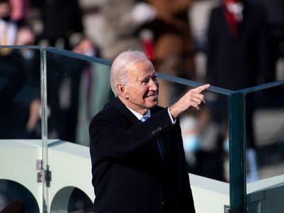 En video, un resumen de los momentos más destacados del primer discurso de Biden como presidente.