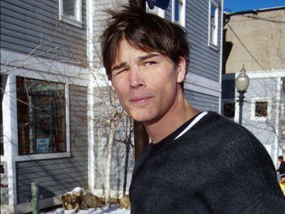 Josh Hartnett fotografado no festival de Sundance em 2000.