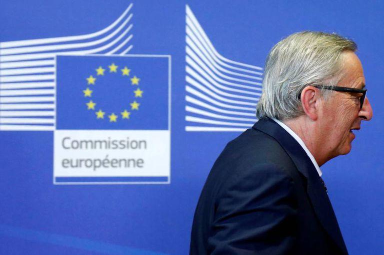O presidente da Comissão Europeia, Jean-Claude Juncker, na quarta-feira.