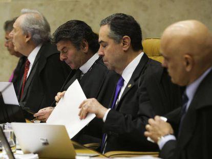 Ministros do Supremo Tribunal Federal, em sessão de junho deste ano.