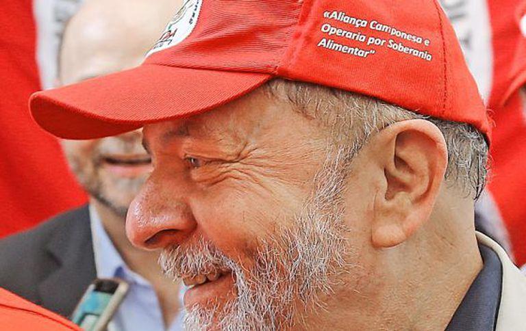 Lula, em congresso dos Pequenos Agricultores.