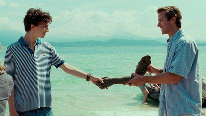 Timothée Chalamet e Armie Hammer protagonizam este longa de Luca Guadagnino, 'Me Chame Pelo Seu Nome'.