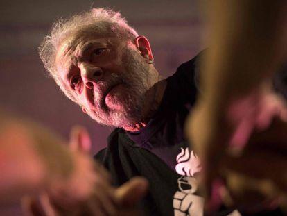 Lula na UFRJ no dia 8 de dezembro.