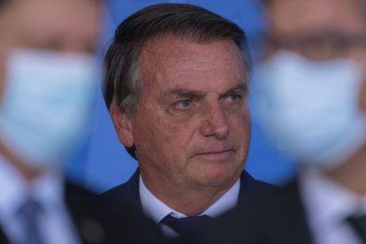 Bolsonaro no Palácio do Planalto nesta quinta, 2.  EFE/ Joedson Alves