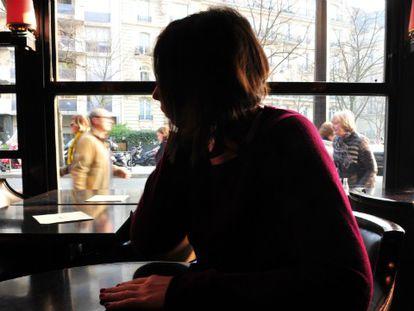 A jornalista Anna Erelle, em Paris.