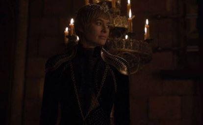 Lena Headey, no papel de Cersei Lannister, em um fotograma da oitava temporada de 'Game of Thrones'.