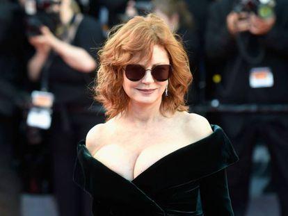 Susan Sarandon no último Festival de Cannes.