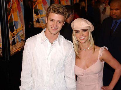 Justin Timberlake e Britney Spears.