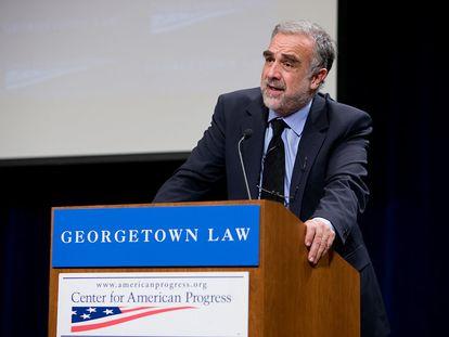 Luís Moreno Ocampo, ex-promotor-chefe do Tribunal Penal Internacional (TPI) em Haia, Holanda.