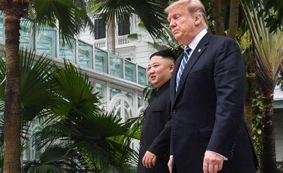 Kim e Trump nesta quinta-feira em Hanói