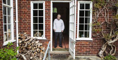 George Steiner, em sua casa em Cambridge.