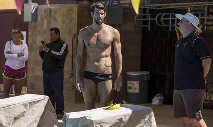Phelps e Bowman na Universidade do Arizona.