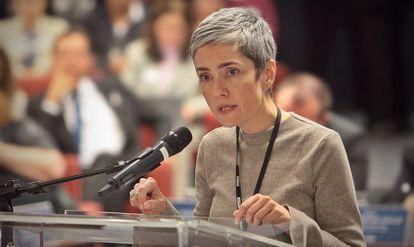 Debora Diniz em audiência pública sobre a descriminalização do aborto em 2018.