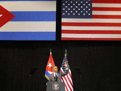 Obama, o passado março, em Havana