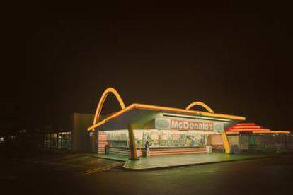 Um dos primeiros McDonald's. Está em Downey, Califórnia, e foi aberto em 18 de agosto de 1953.