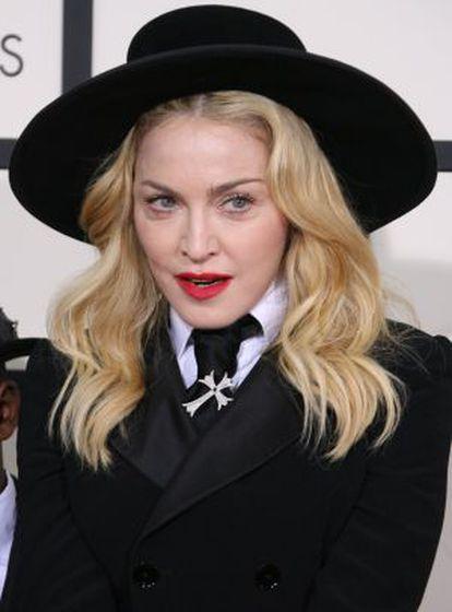 Madonna, na última entrega do prêmio Grammy.