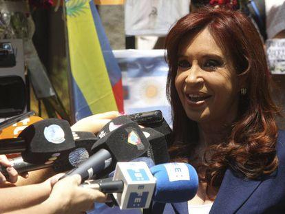 A ex-presidenta da Argentina Cristina Kirchner.