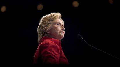 Hillary Clinton, em um comício em Pittsburgh, em 30 de julho de 2016.