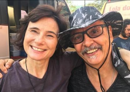 Eliane Brum e Lilo Clareto