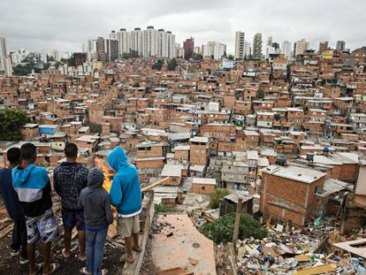 Vista da favela de Paraisópolis: região cobra melhorias.