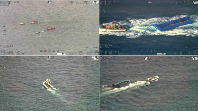 Contrabandistas de migrantes no Mediterrâneo recuperam os botes vazios para reutilizá-los zarpando da costa líbia.
