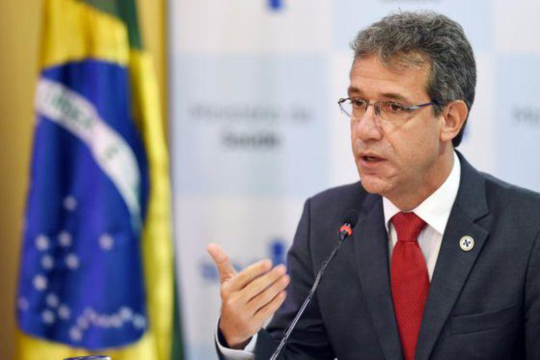 O ministro da Saúde, Arthur Chioro, em entrevista em Brasília.