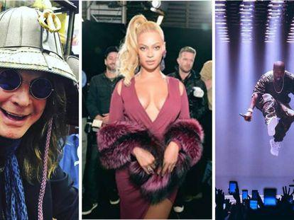 Ozzy Osbourne. Beyoncé y Kanye West tienen 'sus cosas' en cuanto a necesidad básicas dentro de un camerino.