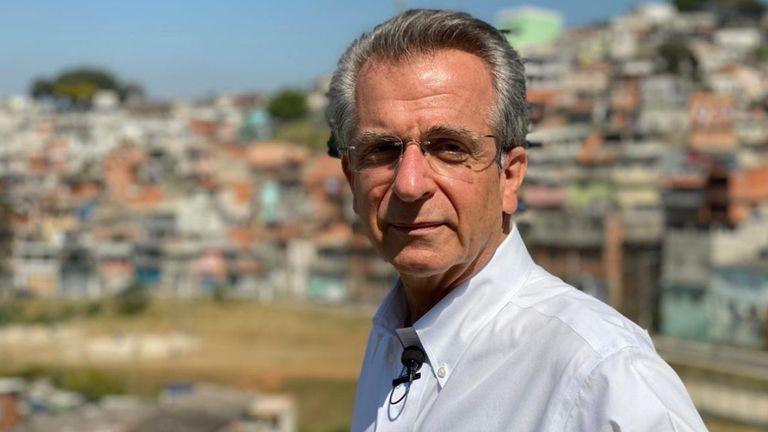 Pré-candidato do PSD à Prefeitura de São Paulo, Andrea Matarazzo.
