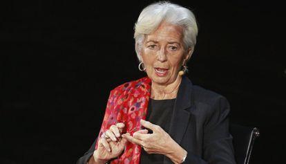 Christine Lagarde, diretora-gerente do FMI.