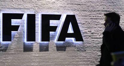 Imagem da fachada da FIFA.