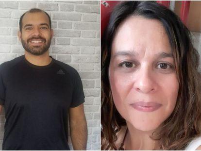 Bernando Lima e Daniela Lopes, dois moradores de São Paulo que apresentaram os sintomas de coronavírus mas não foram testados.