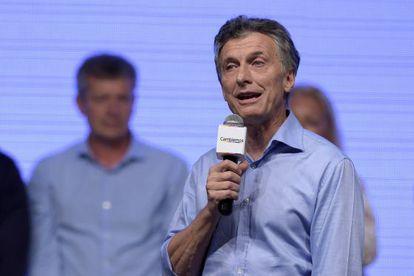 Mauricio Macri, eleito presidente da Argentina.