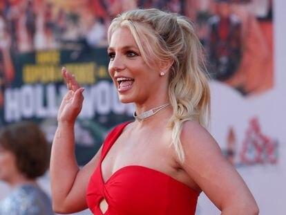 Britney Spears na estreia de um filme em Los Angeles, em 2019.