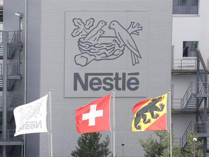 Fábrica da Nestlé em Konolfingen (Suíça) em setembro de 2020.
