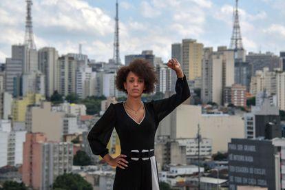 A ativista transgênero Erika Hilton, vereadora eleita pelo PSOL em São Paulo, em 23 de novembro. Partido triplicou número de vereadores na capital paulista.