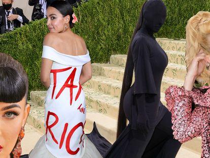 Os grandes momentos do Met Gala 2021: impostos para os ricos, a invasão da franja-coque e 'cadê a Kim?'