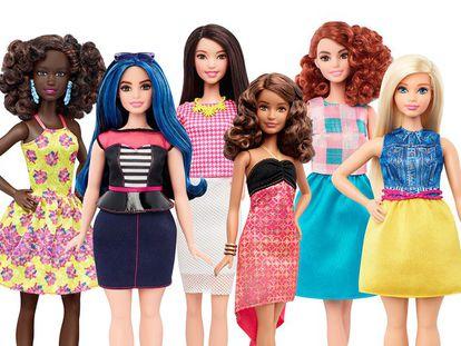 Os novos corpos da Barbie