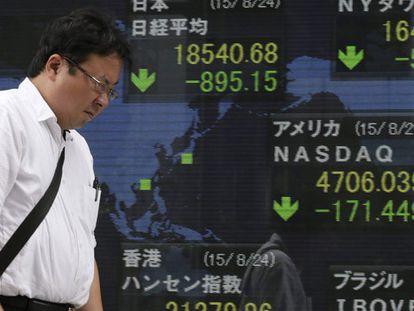 Bolsas de valores despencam pelas dúvidas sobre a economia chinesa