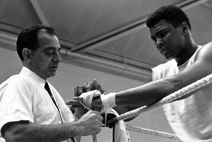 O ex-lutador Muhammad Ali.