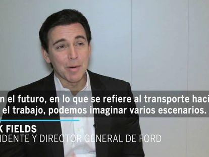 """Presidente da Ford: """"Ter carro será algo secundário nas grandes cidades"""""""